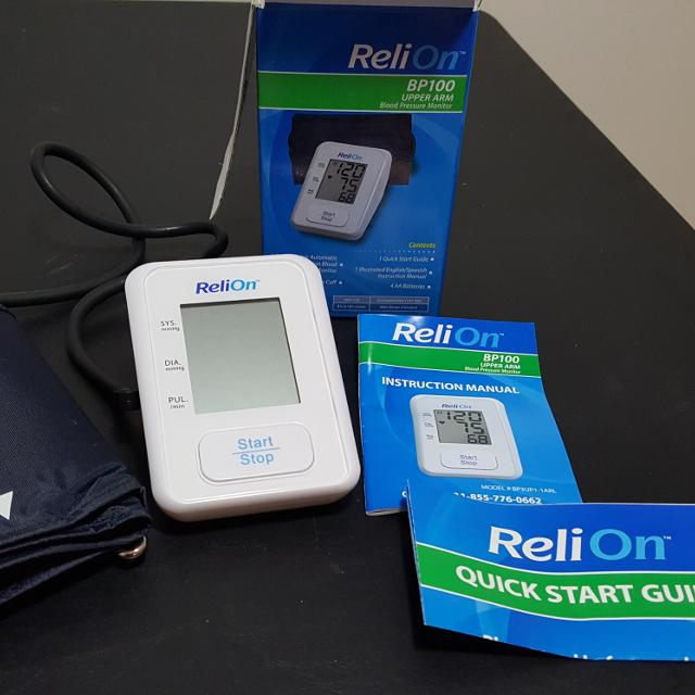 Best Reli On Blood Pressure Monitor For Sale In Akron Ohio For 2018