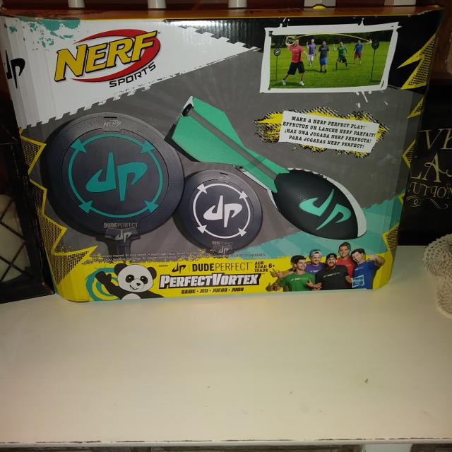 New in box Nerf Sports Dude Perfect Vortex Game