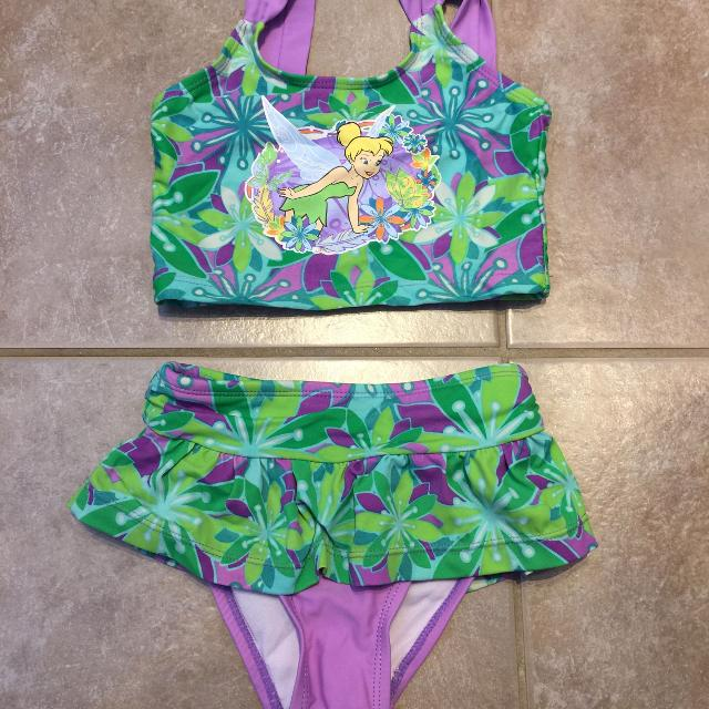 815c70aa392ac Find more Size 4 Disney Tinkerbell Bathing Suit for sale at up to 90 ...