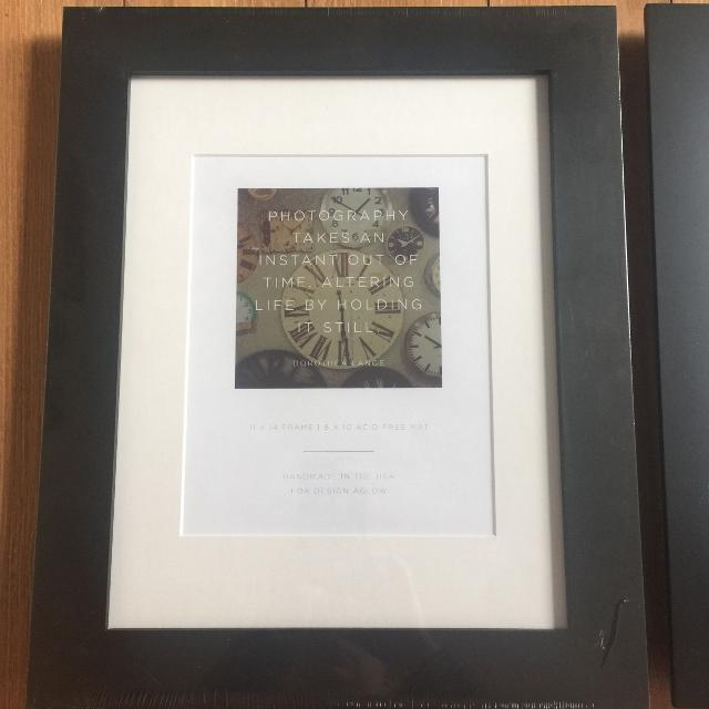 Find more 2 New Design Aglow Sellwood Black Frames 11x14 for sale at ...