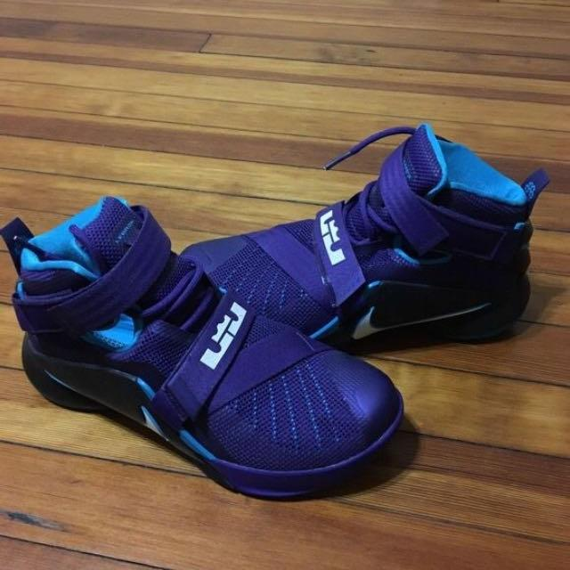 aac99c0805d Best New Lebron James Purple Sneakers Size 8 for sale in Binghamton ...