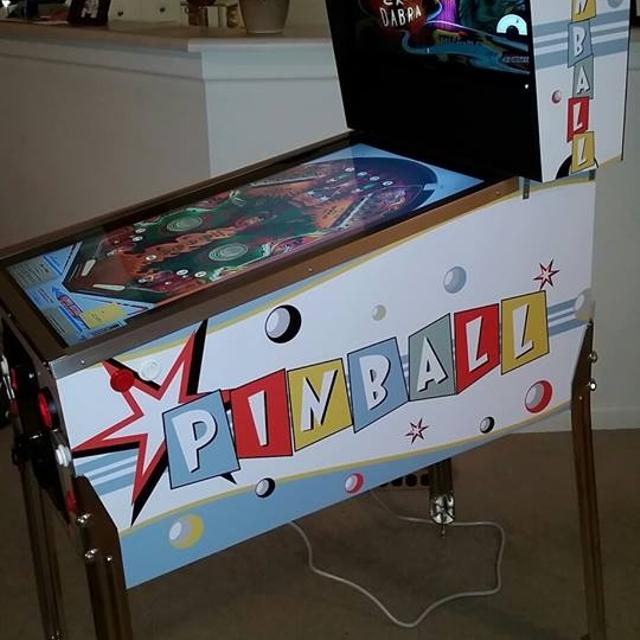 Visual Pinball Machine Arcade Game VP Virtual Pin Mid-Size Hyperpin