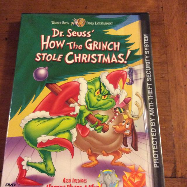 How The Grinch Stole Christmas 1966 Dvd.Brand New How The Grinch Stole Christmas Cartoon Dvd