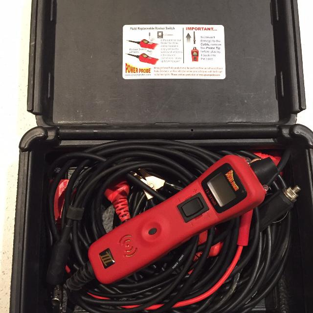 Power Probe 3 and deluxe lead kit