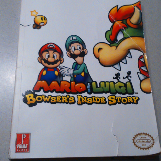 find more players guide book for mario and luigi bowser s inside