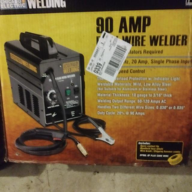 90amp wire welder used once
