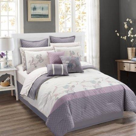 Used, NEW  7 Piece Comforter Set QUEEN SIZE... for sale  Canada