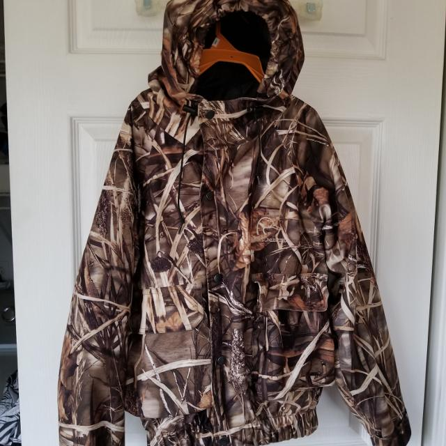 4bb8bad69cb39 Find more Ducks Unlimited Water Resistant Camo Jacket for sale at up ...