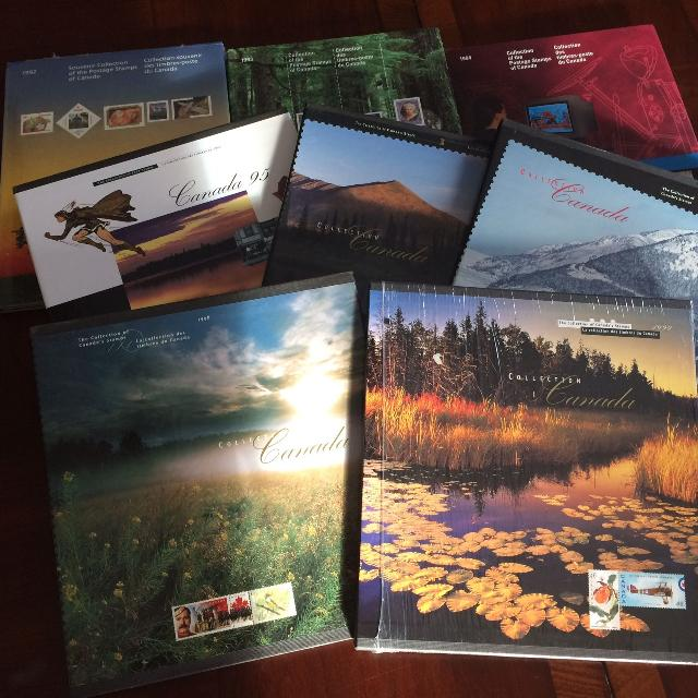 Canada Post Collector Stamp Albums