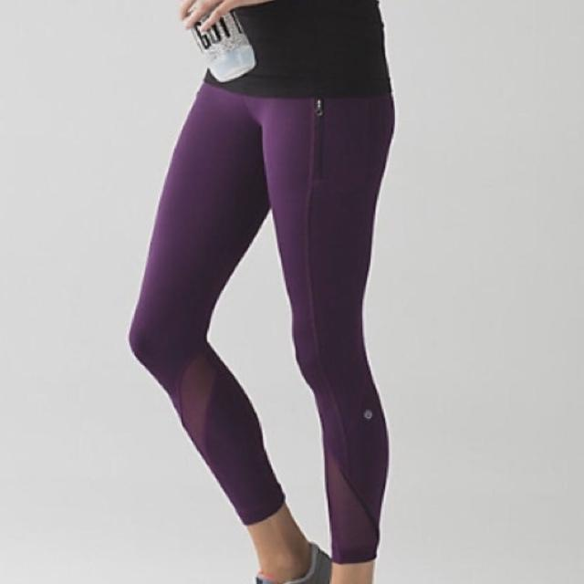 5779968a41 Find more Lululemon Leggings With Side Slippers And Small Slits Of ...