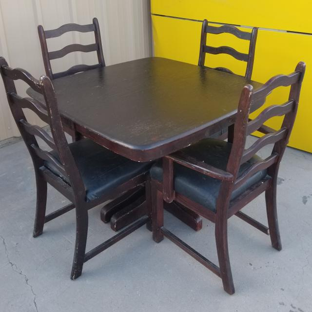 Best Vintage Dining Table And Chairs For 4 In Albuquerque New Mexico 2019