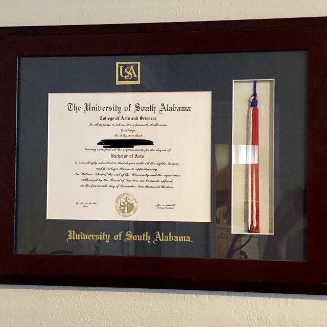 Find more Diploma Frame for sale at up to 90% off - Mobile, AL
