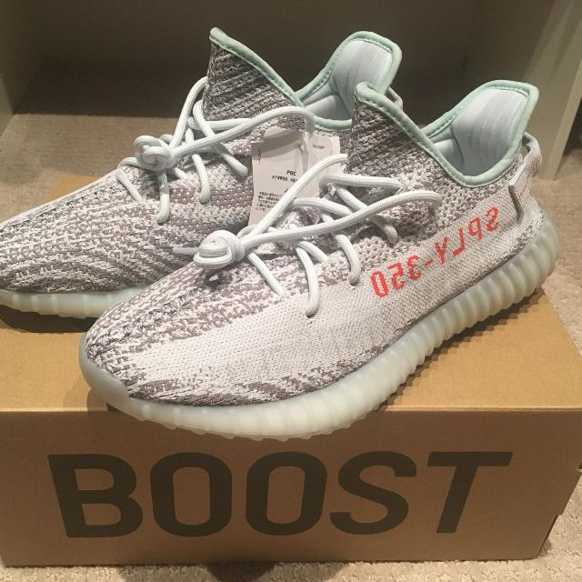 783dc91368fd7 Find more Yeezy Boost 350 V2 Blue Tint Size 10.5 for sale at up to ...