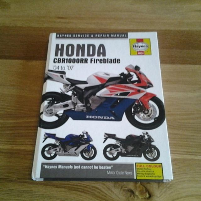 2007 honda cbr1000rr repair manual