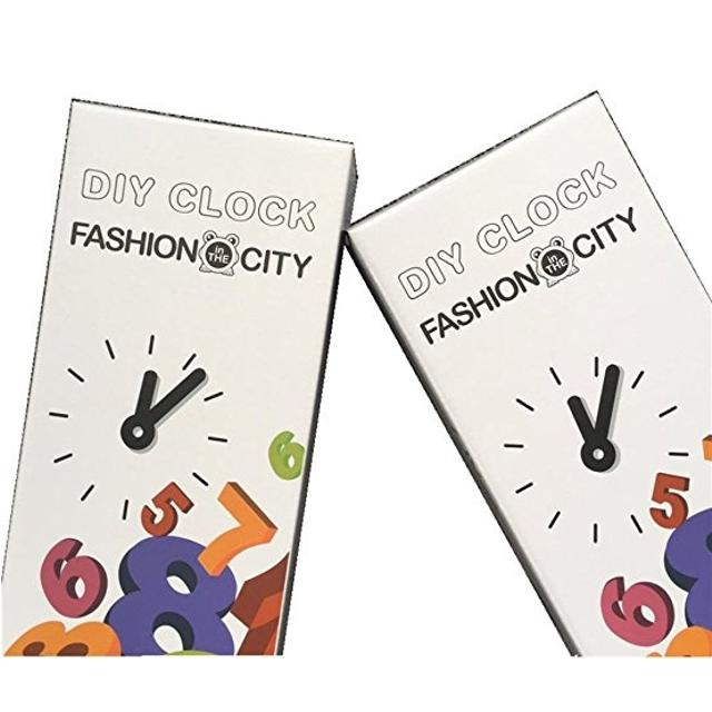 DIY CLOCK BY fashion in the city