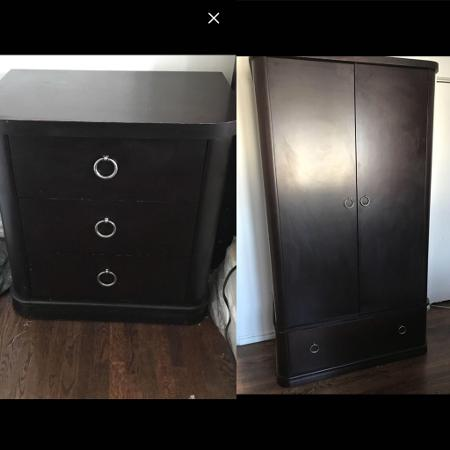 Queen bedroom set (ottimo furniture) for sale  Canada