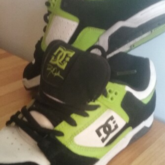 4747e7a007 Best Yellow Black & White Dc Shoes---brand New Condition! !! for sale