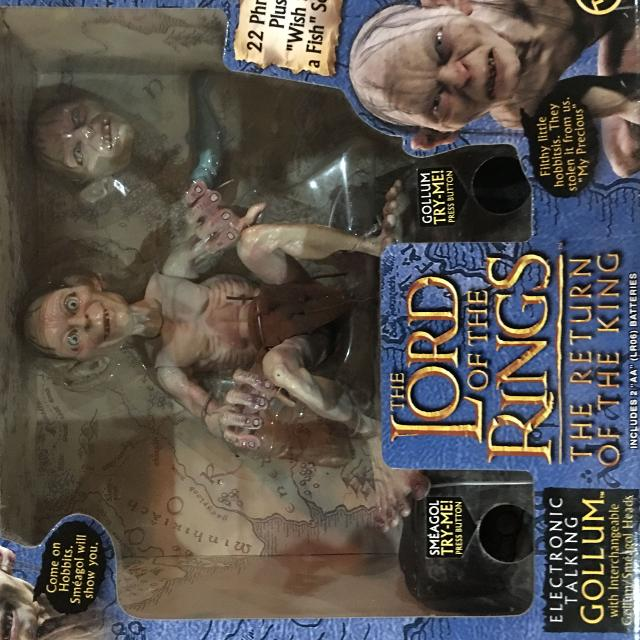 Best New Collectable Lord Of The Rings Talking Gollum Rare Christmas
