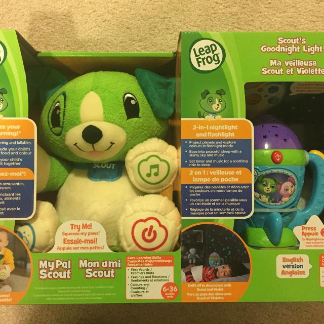Find More Brand New Leapfrog My Pal Scout Goodnight Light For