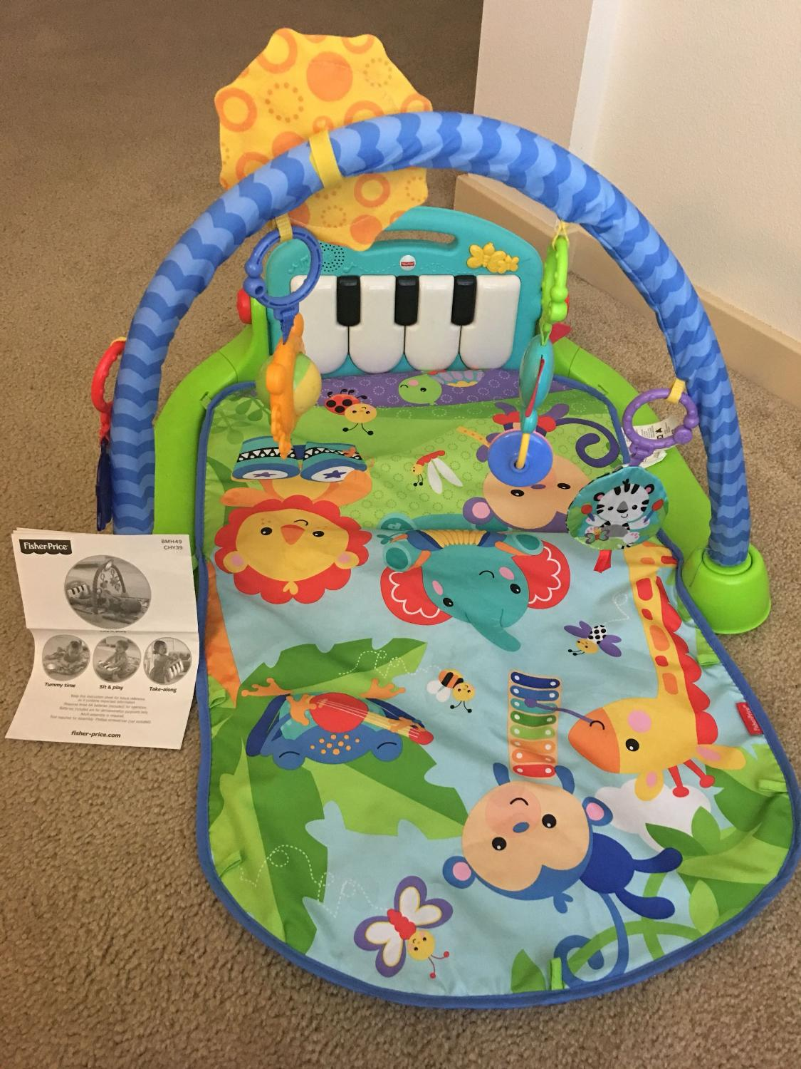 Best Fisher Price Kick Play Piano Gym For Sale In Denver Colorado