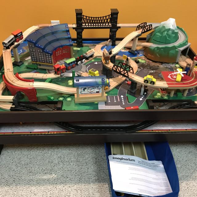 Find more Imaginarium Metro Line Train Table for sale at up to 90% off
