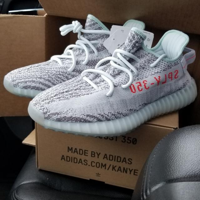7d281e147 Find more Yeezy 350 Blue Tint (from Yeezy Supply) 10.5 for sale at ...