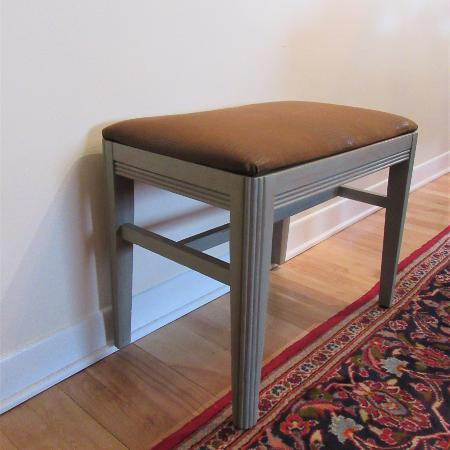 Vanity Stool Art Deco, used for sale  Canada