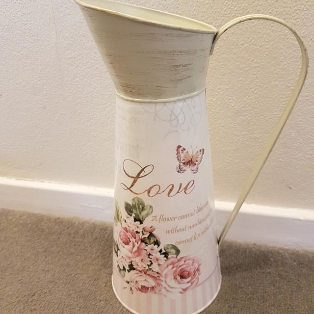 Find More Tall Shabby Chic Metal Jug Vase For Sale At Up To 90 Off