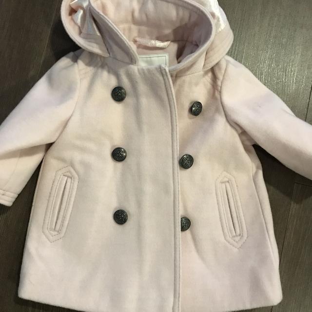 8cb642b3a Next pink baby girls coat 3-6 months