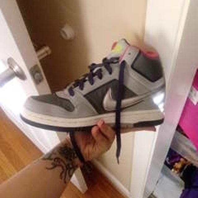 5c8a78323c461 Best Reduced 2012 Nike Air Prestige Iii High Top Lace Up Shoes Womens 7 42  Gray 407363-013 for sale in Richmond, Virginia for 2019