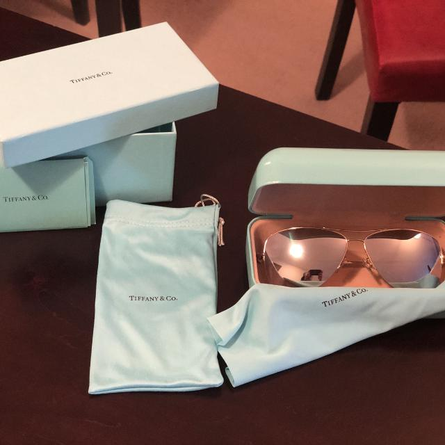 fb10fb96f501 Find more Tiffany   Co. Sunglasses - Mint Condition for sale at up ...