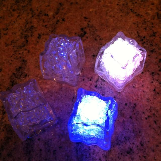 best 4 light up color changing ice cubes from disney world for