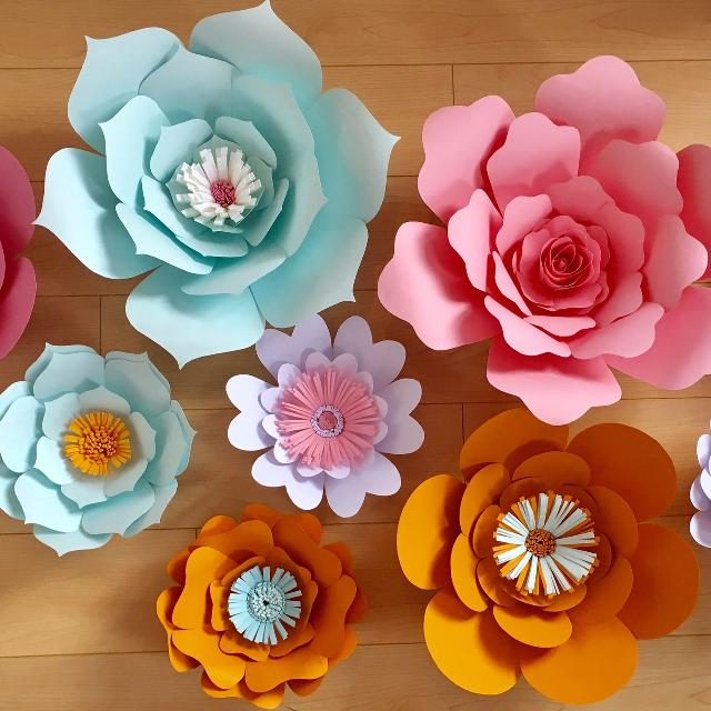 Best paper flower wall decor for sale in oshawa ontario for 2018 paper flower wall decor mightylinksfo