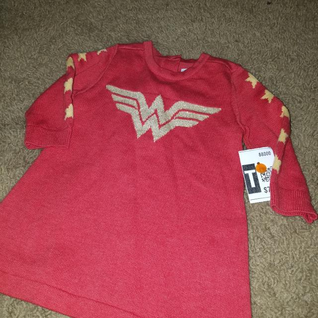 21b69ffc6 Find more New! Baby Gap Wonder Woman Sweater Dress 3 6m for sale at ...