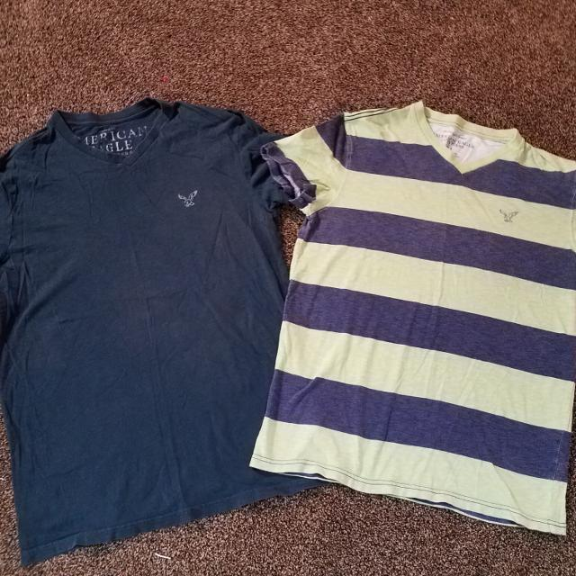 3cab250579cad Find more 2 American Eagle Shirts for sale at up to 90% off