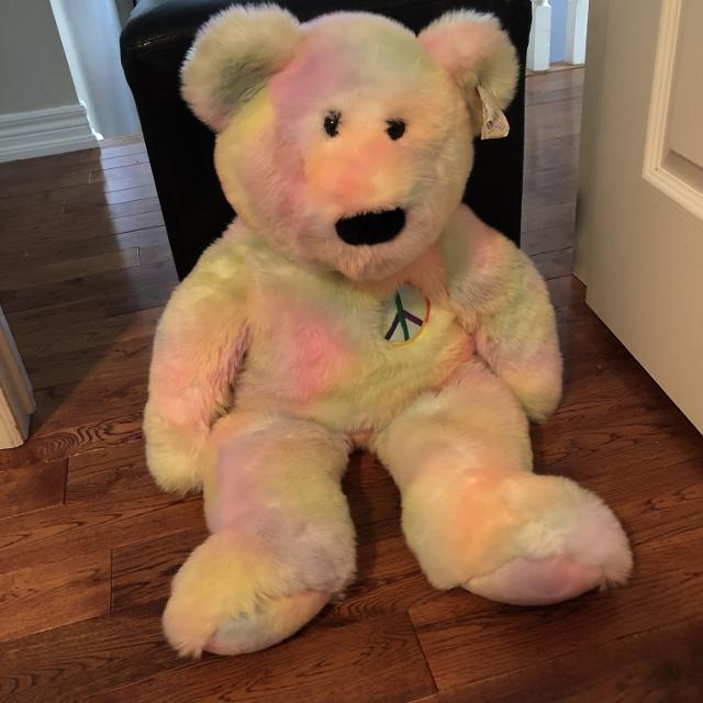 cf18118420e Best Extra Large Peace Ty Beanie Baby Plush Stuffie for sale in Clarington