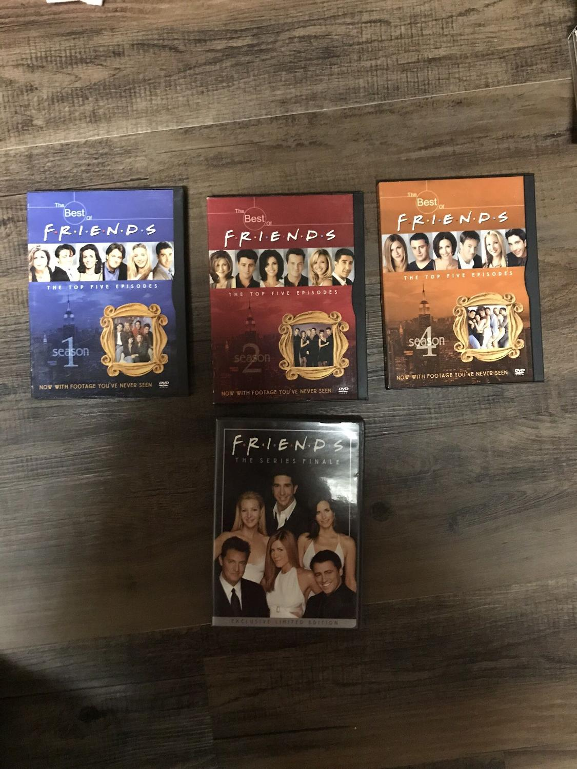 Best of Friends Seasons 1, 2, 4 and Friends The Series Finale