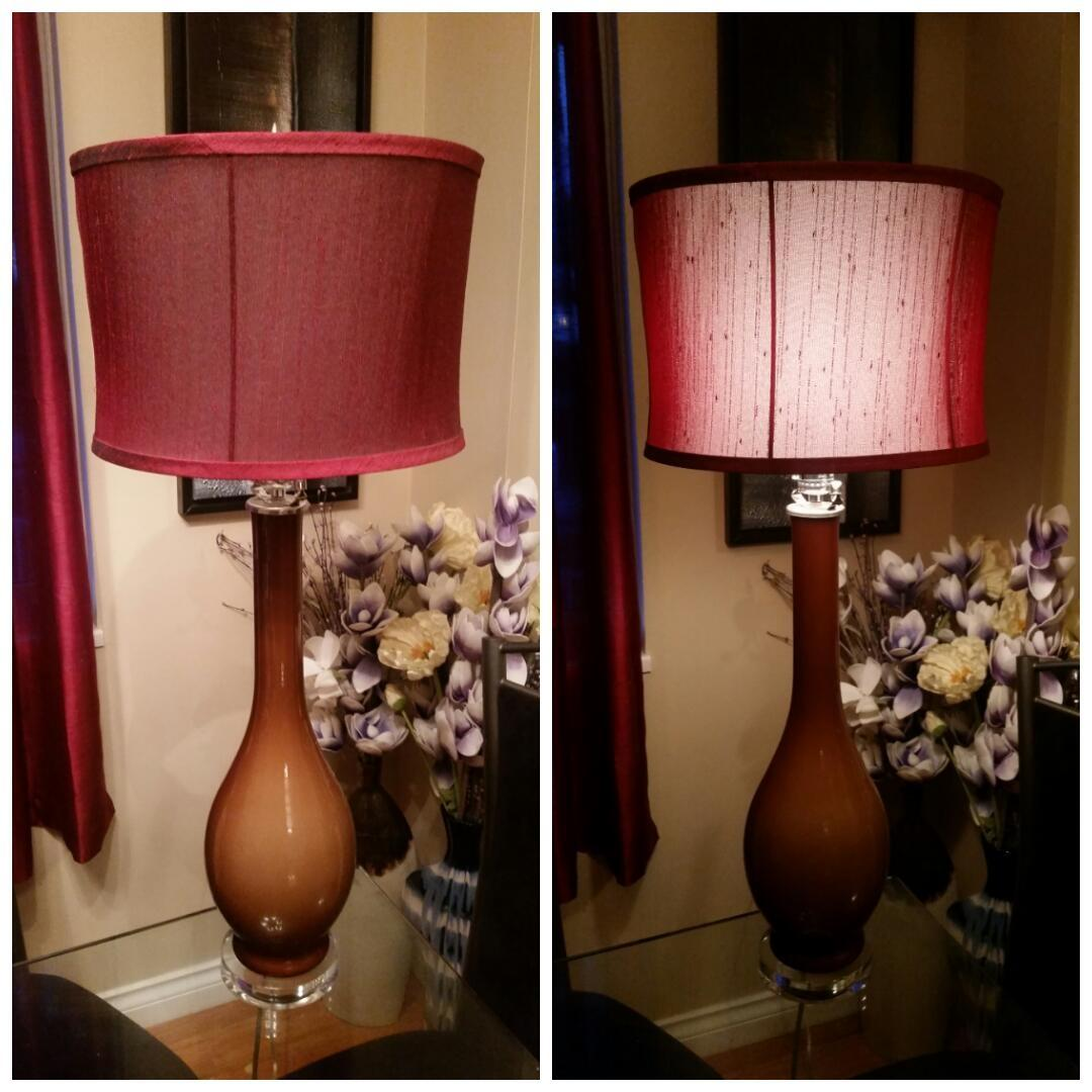 Light Shop Sale Victoria: Find More Tall Light Brown Ceramic Lamp With Clear Base