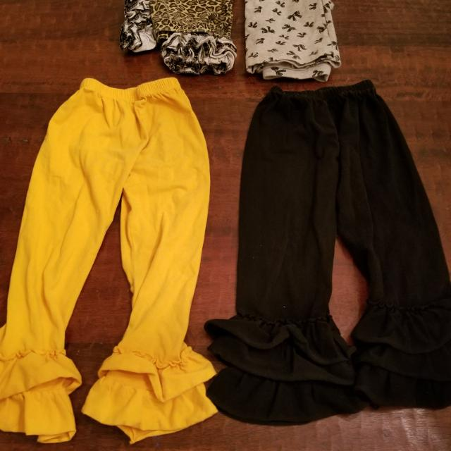 f95621eeb53 Best 4 5t Yellow And Black Ruffle Pants for sale in McKinney