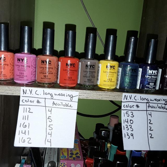 Best N Y C Long Wearing Nail Polish For Sale In Akron Ohio For 2019