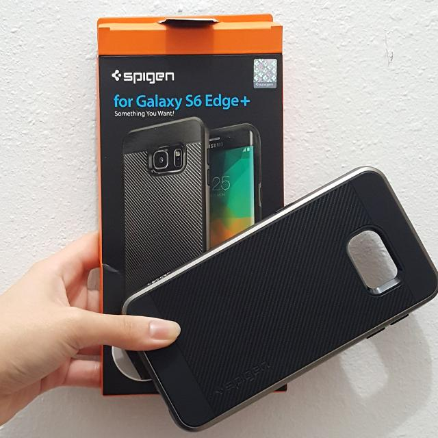 factory authentic a11f9 548ca Spigen Neo Hybrid Samsung Galaxy S6 Edge+ case