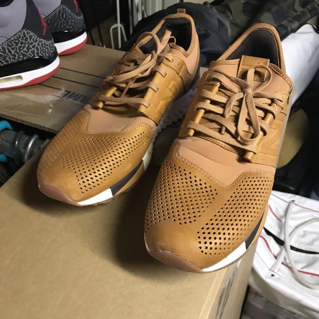 ff0b7e52db25 Best New Balance Men's 247 Brown Leather Size 10.5 for sale in Vaudreuil,  Quebec for 2019