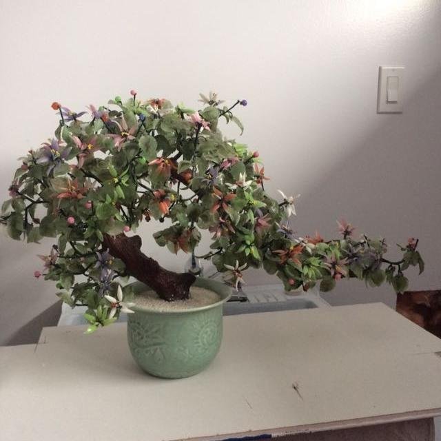 Find More Jade And Glass Bonsai Tree For Sale At Up To 90 Off