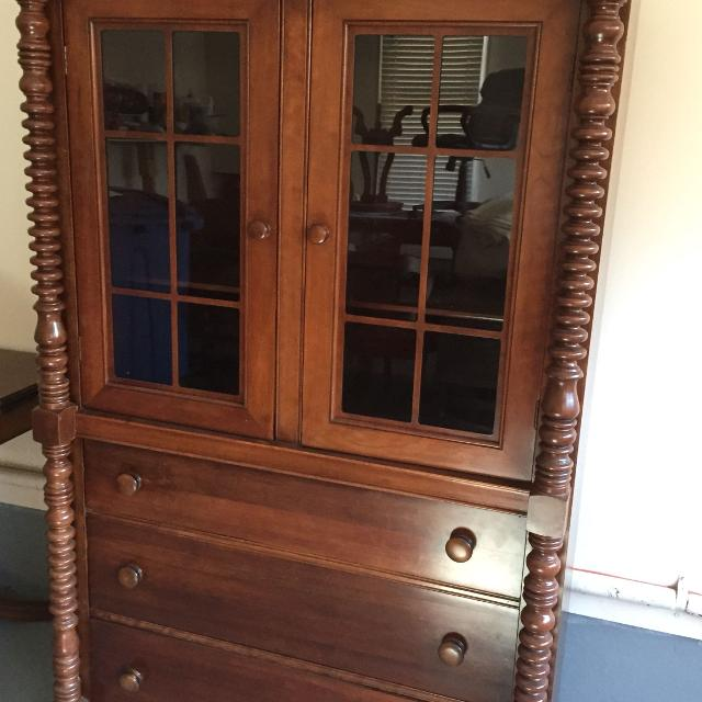 Antique china cabinet and buffet Deal for both $250 - Find More Reduced!! Antique China Cabinet And Buffet Deal For Both