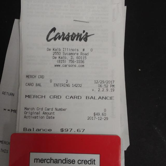 Find More Carson Credit 9767 For Sale At Up To 90 Off