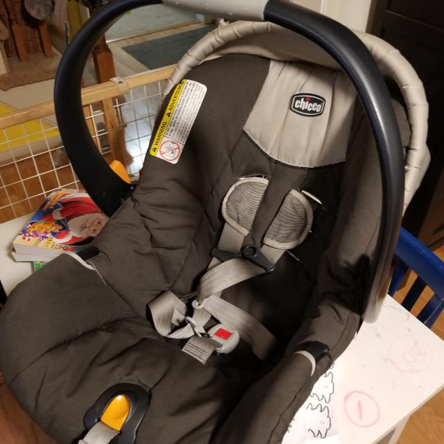 Chicco Carseat With Base Expires This April