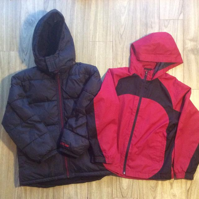5be5a4daa Best 1 Gap Winter Coat And 1 Cherokee Summer Coat For 10 Years Old ...