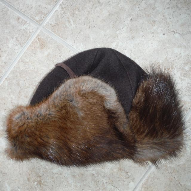 e42ead86d5c86 Find more Muskrat Fur Trapper Hat for sale at up to 90% off
