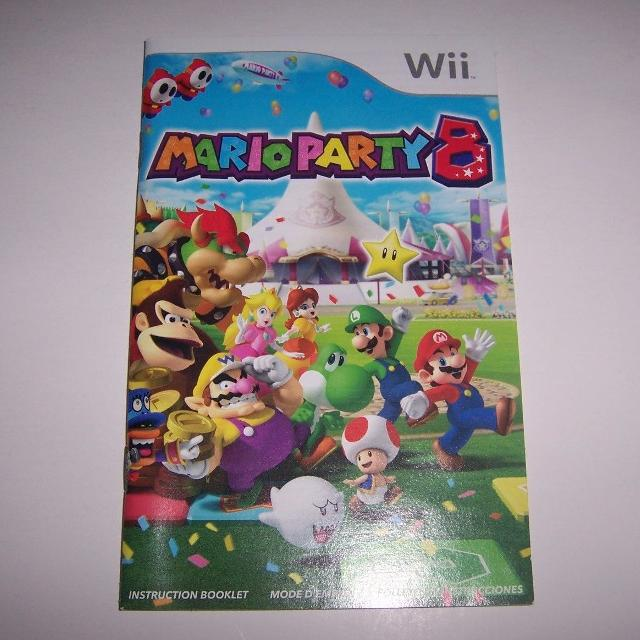 Best Wii Mario Party 8 Instructions Manual Only This Is Not The