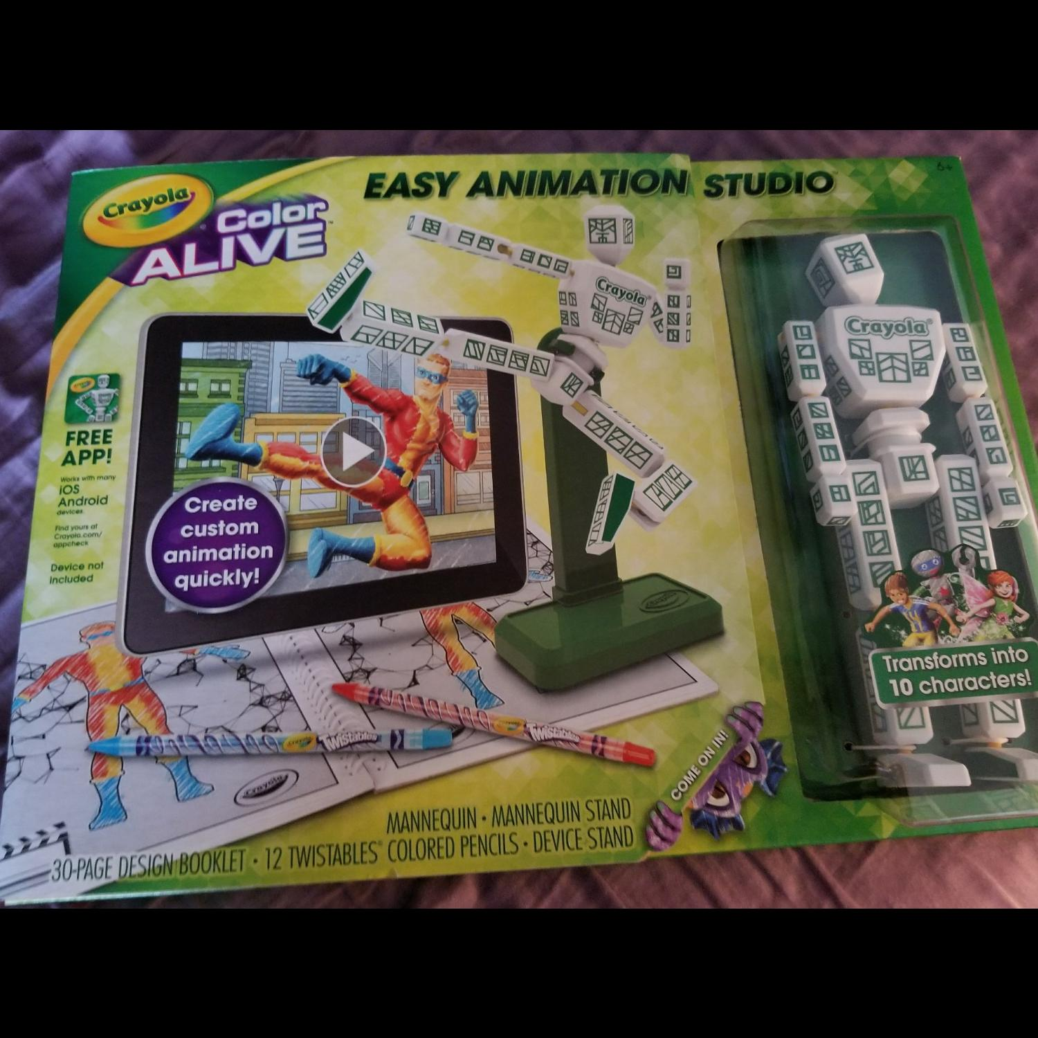 Best Crayola Color Alive Easy Animation Studio for sale in Cypress ...